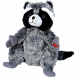 "MerryMakers KISSING HAND/CHESTER RACCOON 9"" Doll"