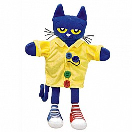 "MerryMakers PETE THE CAT GROOVY BUTTONS 14.5"" Puppet"