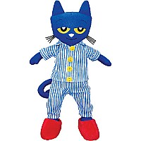 "MerryMakers PETE THE CAT BEDTIME BLUES 14.5"" Doll"
