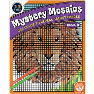 Mystery Mosaics: Book 8 - Color by Number