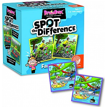 Brainbox Spot The Difference Family Fun