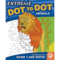 MindWare Extreme Dot to Dot: Animals