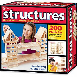 Structures 200 Plank Set Keva