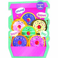 Box Of Donuts Scratch & Sniff Card