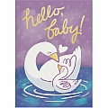 Baby Swan Foil Card