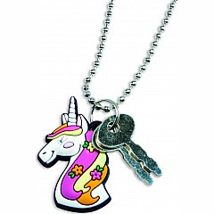 Unicorn Diary With Charm Necklace