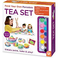 Paint Your Own Porcelain: Doll Tea Set