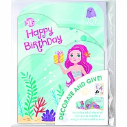 Mermaid Decorate Your Own Card