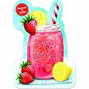 Strawberry Lemonade Scratch And Sniff Card