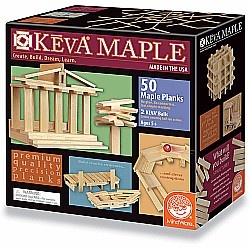KEVA Maple: 50 Plank Set