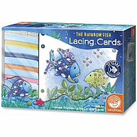 The Rainbow Fish Lacing Cards