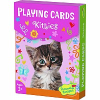 Kitties Playing Card Box