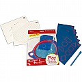 Boogie Board Play N' Trace Paperless Doodle Pad Activity Pack - Letters and Numbers Learning Pack