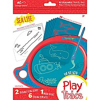 Boogie Board Play and Trace LCD eWriter, Red