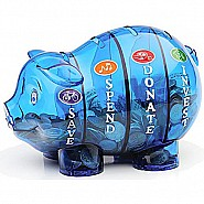 Money Savvy Pig - Blue