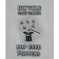 Pop Eyed Popper Deck Bicycle (Blue)