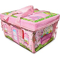 Neat-Oh! Everyday Princess ZipBin 50 Doll Mini Mansion w/ 1 Doll