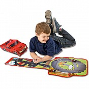 ZipBin Softie Racer Play set