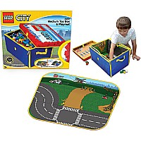 Neat-oh! Lego City Zipbin Medium Toy Box Playmat