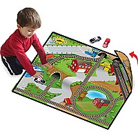 Neat-oh Roadville 2-sided Large Playmat