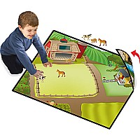 Neat-oh Farm 2-sided Large Playmat