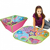 Zipbin Superstar Condo Medium Basket Playmat
