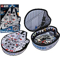 Neat-oh! Lego Star Wars Zipbin Small Millennium Falcon Storage Case
