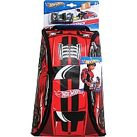 Neat-oh! Hot Wheels Zipbin Crash Racer Backpack with Car (red)