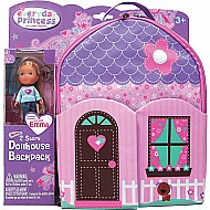 Neat-Oh! Everyday Princess ZipBin 40 Doll Dollhouse Backpack w/ 1 Doll