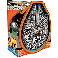 Neat-Oh! Star Wars Vehicles Millennium Falcon ZipBin Race Case