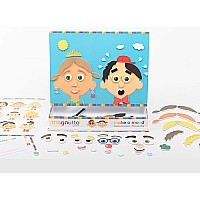Neat-Oh! Magnutto - Make a Mood - Educational Magnetic Activity