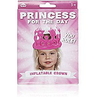 NPW Princess For The Day Inflatable Crown