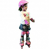 Chicago Skate Training Set - Pink Size M (1 - 4)