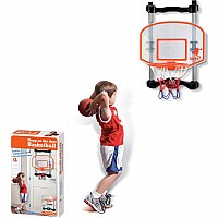 NSG Over the Door Basketball - Black/Orange/Clear