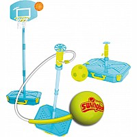 Mookie Swingball 3 in 1 - Blue/Yellow