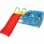 Eezy Peezy Fold-It Ball Pit with Slide