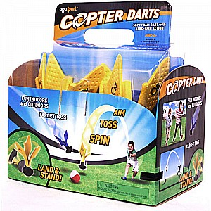 Copter Darts 4-pack