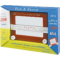Classic Etch A Sketch in 1960 Box