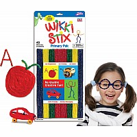 Wikki Stix Primary Colors Molding & Sculpting Sticks