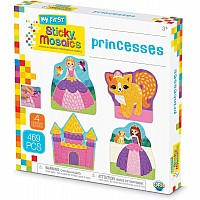 My First Sticky Mosaics Princesses