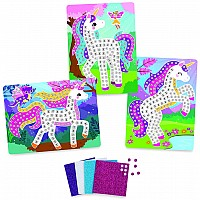 Sticky Mosaics - Travel Pack - Unicorns