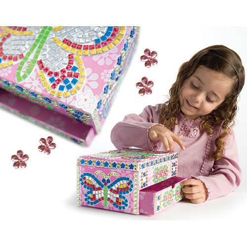 Sticky Mosaics Jewelry Box Be Beep Toys