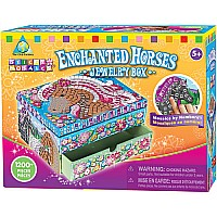 Sticky Mosaics Enchanted Horses Jewelry Box