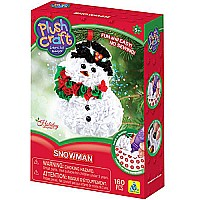 Orb PlushcraftSnowman Ornament Kit