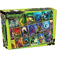 Goosebumps Collage Puzzle - 275 Pieces