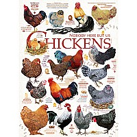 Chicken Quotes (1000 Piece Puzzle)