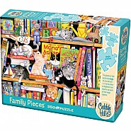 Cobble Hill 350pc Family Puzzle Storytime Kittens