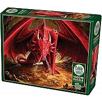 Outset Media Dragon's Lair 1000pc Puzzle