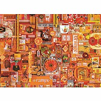 Outset Media Orange 1000pc Puzzle