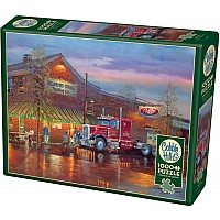Big Red (1000 pc) Cobble Hill